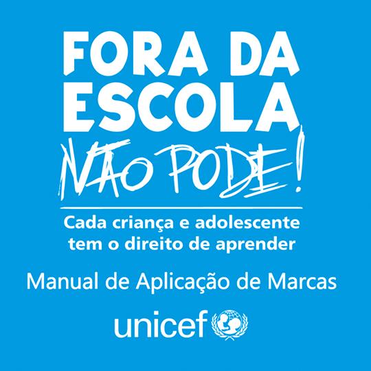 Manual da Marca: Fora da Escola Não Pode!