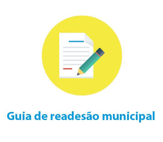 Guia de readesão municipal