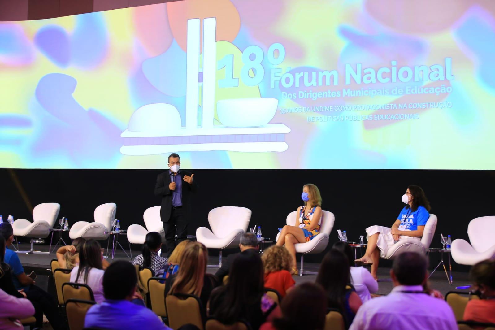 Garantia do direito à educação no Brasil é tema de agenda interna no primeiro dia do 18º Fórum Nacional