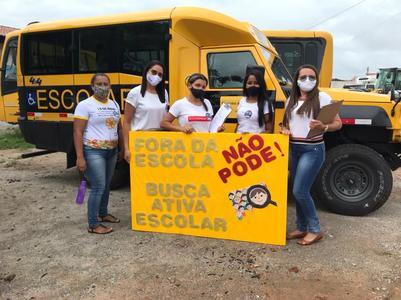 SME de Francisco Macedo realiza busca ativa para diminuir evasão escolar